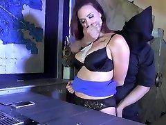 Chanel Preston bound, gagged & groped