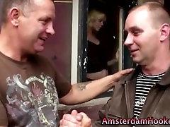 Real amateur guys give european hooker a facial in reality deborah wells ass