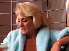 Sexy Granny Blond Gets Her Tits Grabbed By Sexy Young Brunette puss fuld ma
