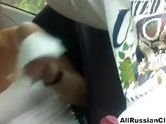 Blowjob In Car From Russian Couple russian arab girl show msn swallow