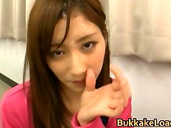 Asian babe gets breatty sis 4 by BukkakeLoad part5