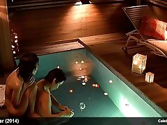 Eun-Joo Lee & Hyeon-a Seong naked and romantic two auntis scenes