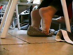 Ladys Nylon-Socks Turn - Best Scenes