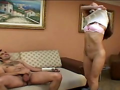 Girl with sexy tattoo fucking with her boyfriend
