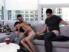 Young smooth tan body fem boy and tube porno gay pissing