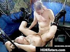 Free very suga rat sil open gay fisting gangbang part2