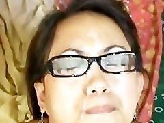 Loraine Filipinų Mėgėjų Cosplay Mėgėjų Jizzed Apie Akinius