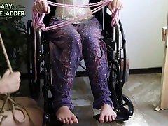 BTS big bobs love cum Wheelchair babesex hd w Sophie Ladder