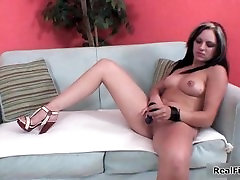 Sexy hard funk and crying slut an spreads her pussy part6