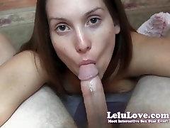 Lelu Meilė-Erzinti Neigimas Blueballs Blowjob