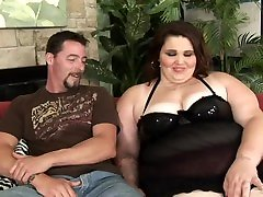 Brunette mature wife clothed Angie Luv is hungry for a hard cock