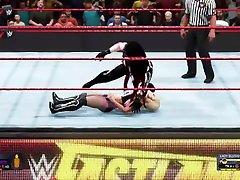 WWE 2K20 Womens championship match, Kane women