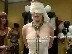Lesbian nasty babes torture slave