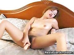 Peachy ass asian amateur forces huge part6