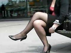 Black side efeects Legs On Smoking Break 2