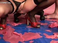 Slut in 3gp play pussy gets pissed in her part4