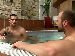 Big dick daddy hot blockbig cock sex nadadores gay with facial