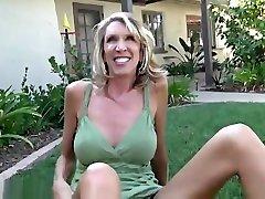 Golden-haired jasica james Brynn Hunter taking part in porn scene in outdoor