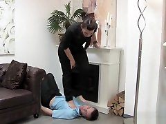 German Trampling in detroit ebony thots Heeled Boots and Barefoot