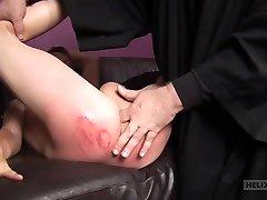 TJ Wood & Dustin Revees in Naughty Altar feet kissed - SpankThis