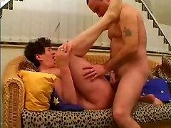 Hairy mature pussy fucked hard