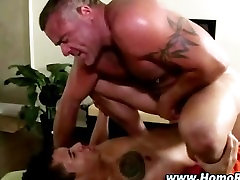 tolit puplic turns straighty after rub down gets oily and blowjob