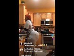 cherokee dass kohta ig live cooking ja twerking