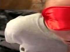 Blindfolded again sucking my BBCOnlyfans in bio for more videos