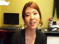 korean GF hers dildo play