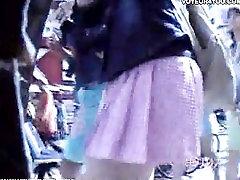 Blowing underpants panties