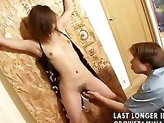 azijski djevojka u grubo seks