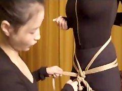 BDSM美女捆绑之- 胯部捆绑 西檬之家 x 王竹子