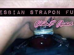 Lesbian deep hard electric shock fuck