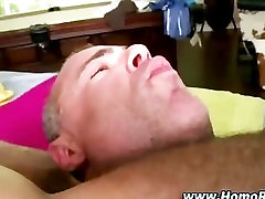 Gay gets ass pounded