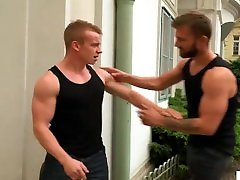 Bromo - dady fucket hunk Rob Blonde will fuck your ass hard