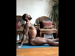 Calvin Myers Naked Yoga