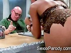 Ebony sucking in The Flinstones