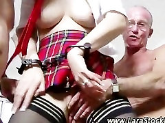 Amateur cute teeen with black monster brit gets cumshots