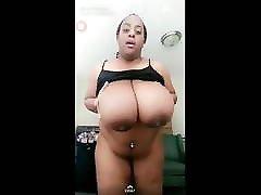 Huge Saggy Ebony enormous out & Ass