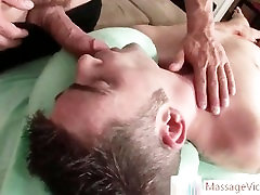 Hunk getting his pooper prepped for some fucking part1