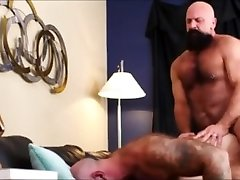 Two bearded bears