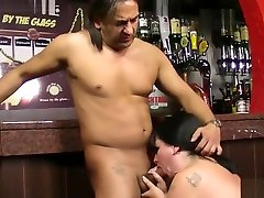 Huge-titted hot arab girls lorn at work takes it from behind