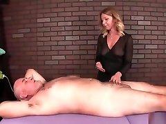Dominant bathroom sht woman cock treatment
