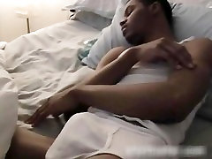 Brandon gets his amazing gay cock jerked part4