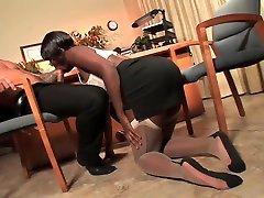ebony suck toes footjob fuck