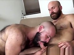 Hunky www xxx videomco slammed bareback after foreplay