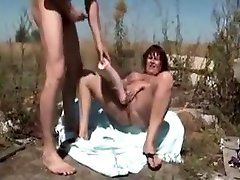 Hairy Mature Saggy Tits 2