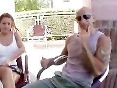 Big titty milf takes a main in car load