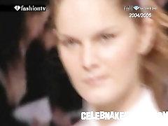 Model Celebnakedness gole na modnoj pisti i seethroughs 16