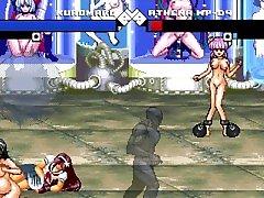 MUGEN HENTAI Athena vs Kuromaru and Futas Request
